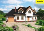 Проект одноэтажного дома с мансардой  - Муратор Ц80