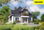 Проект одноэтажного дома с мансардой  - Муратор Ц245